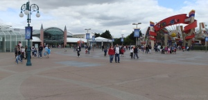 EuroDisney Train Station